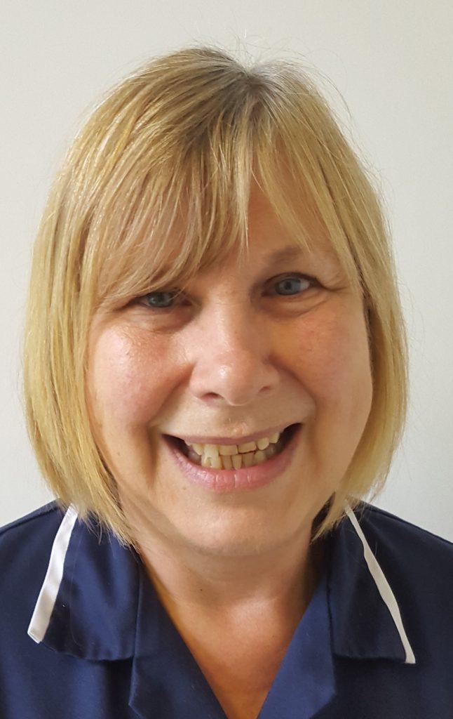 Image of Carolyn from the TVVS nursing team